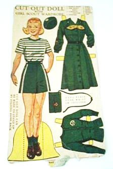 Girl Scout Paper Dolls