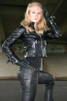 Leather sadism smoking uk domination female