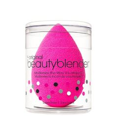 What it is: An edgeless, non-disposable, high-definition cosmetic sponge applicator. What it does: The unique shape and exclusive material available only with beautyblender® ensures impeccable, streak