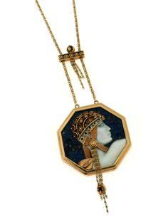 Vintage Ltd. Cameo Jewelry, Gems Jewelry, Art Deco Jewelry, Vintage Jewelry, Fine Jewelry, Jewellery, Romain De Tirtoff, Arrow Necklace, Pendant Necklace