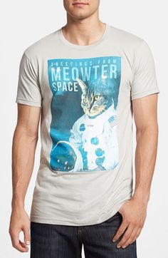 'Meowter Space' Graphic T-Shirt #graphictees #mensfashion #nordstrom @nordstrom