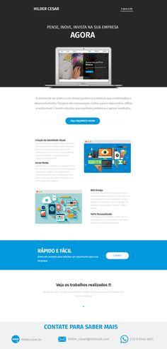 Confira meu projeto do @Behance: \u201cE-mail Marketing - Hilder Cesar\u201d https://www.behance.net/gallery/50453955/E-mail-Marketing-Hilder-Cesar