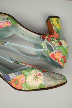Schiaparelli shoes / 1950s