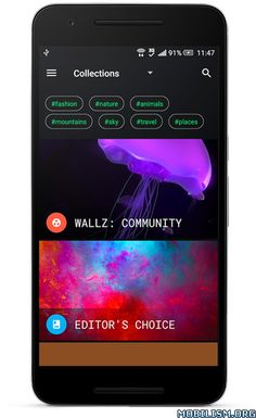 Wallz: Wallpaper APP v1.3.4 [Pro]Requirements: 4.0+Overview: Wallz is a free wallpaper app that collects wallpapers from many photo services such as: Flickr, 500px, Pixabay, Google+, BING gallery. Besides, this app collects wallpapers from 30+ OEMs...