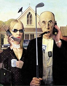 Bourgeois American Gothic | 36 Pop Cultural Reinventions Of The American Gothic Painting