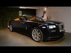 The luxury automaker unveils Dawn, its new drophead coupe, ahead of the Frankfurt Motor Show. Forbes got an early look at the convertible at last month's Peb. Rr Wraith, Rolls Royce Models, Bentley Gt, Rolls Royce Dawn, Bmw M6, Hello Beautiful, James Bond, Fast Cars, Luxury Cars