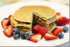 Gena's Vegan Protein Pancakes (gluten free, soy free, vegan)