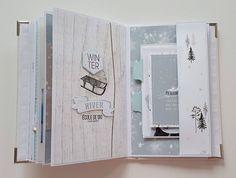 Agenda Bullet, Album Photo Scrapbooking, Mini Albums Scrap, Bujo, Winter Wonderland, Inspiration, Day Planners, Minis