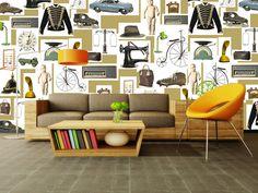 Loving these glorious wallpapers by Cara Savan…