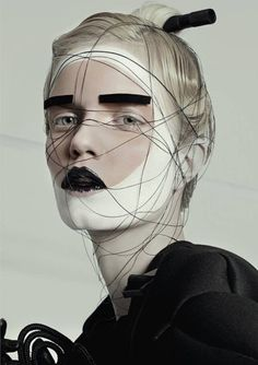 couture make up, high fashion, editorial beauty
