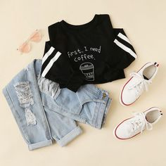 Sweatshirt outfit school shirts New Ideas Teen Fashion Outfits, Outfits For Teens, Fall Outfits, Sweatshirt Outfit, Tumblr Outfits, Mode Outfits, Teenager Outfits, College Outfits, Vetement Fashion