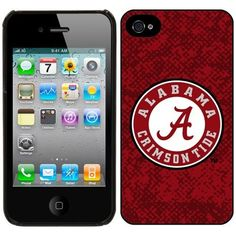 NCAA Alabama Crimson Tide iphone 4/4S Case by Pangea Brand. $21.96. NCAA hard shell case for the IPhone 4. case officially licensed by the NCAA. case that features 4 color artwork. NCAA hard shell case for the IPhone 4 or 4S. Protect your IPhone in high fashion with a great look for all soccer fans. This case is made in the USA the only case that features 4 color artwork. This is also the only case officially licensed by the NCAA.