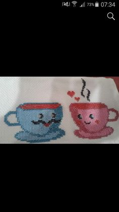 Cross Stitching, Cross Stitch Embroidery, Cross Stitch Patterns, Embroidery On Clothes, Table Linens, Crochet Projects, Projects To Try, Arts And Crafts, Erdem