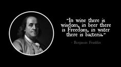 Wise words from a wise man! #Freedom #Beerlovesyou
