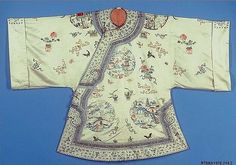 Woman's Short Informal Robe | China | Qing dynasty (1644–1911) | The Met