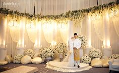 Daniel Zain Photography - Malaysia and Destination Weddings, Contemporary Portraits: Syaheedah & Muhammad Ihsan - Nikah Ceremony Nikah Ceremony, Wedding Ceremony, Wedding Stage, Dream Wedding, Wedding Beach, Brazilian Wedding, Marriage Reception, Wedding Inspiration, Wedding Ideas