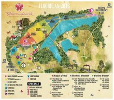 Get to know your map and the festivals grounds.  #Tomorrowworld #Tomorrowtips