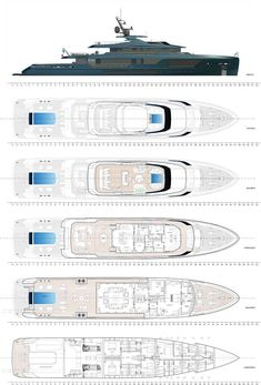 Mondomarine, a Palumbo Superyachts brand, is adding a new DISCOVERY line to its projects. Encapsulating the characteristics of explorer-style yachts, the new Yacht Design, Boat Design, Benetti Yachts, Explorer Yacht, Weather Crafts, Maui Travel, Classic Yachts, Lower Deck, Love Boat