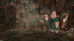 Gravity Falls Season 2 Episode 2 Into the Bunker | Watch cartoons online, Watch anime online, English dub anime