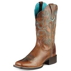 Cowboy Boots Womens Work Boots Waterproof Boots.  Gotta look nice on the farm!