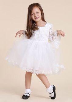 Robe blanche junior