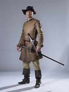 The Musketeers - Promotionals from Series I: Captain Treville