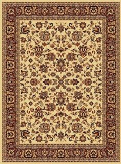 "$170 free shipping!  Narrow but can work in LR      Traditional Area Rug, Opera 9'2""x12'6"" Ivory"