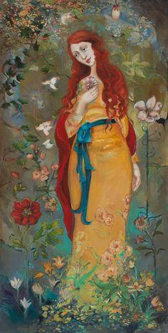 Cassandra Barney - Mary Magdalene (http://www.hiddenridgegallery.com/store/cassandra-barney/mary-magdalene.html)
