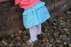 Greek Chic Peplum Skirt for Baby Girl by BabyBirdShop on Etsy, $17.50