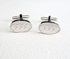 Car Logo Cufflinks Cuff Links Emblem German Wedding Groom Groomsmen Gift