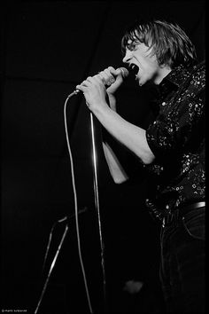 Mark E. Smith (The Fall) en 1979.