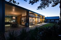 This amazing private residence situated in Newcastle, Australia was recently redesigned by Bourne Blue Architecture.