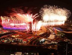 The close of the London 2012 Olympic Games Opening Ceremony.