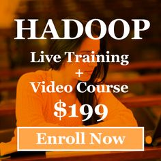 Hadoop Live Training only $199/ Rs:- 12000  Hadoop is next big #technology to learn.  Be An Expert of #BigData & #Hadoop at low cost http://goo.gl/sHXGmh
