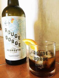 Vermouth Rouge Gorge, à base de pommes et fabriqué au Québec.