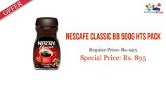 Shop Online #Nescafe #Classic BB 500GM @ Kiraanastore.com. Get Free Shipping & Quick Home Delivery!!
