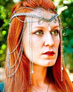 Dhy Ngetal,Testeira,elfica,celta,casamento,senhor dos anéis,jovem nerd,game of thrones,medieval,fantasia,comprar,coroa,tolkien,elfo,fada,geek,casamento