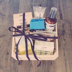 Custom men's gift hamper featuring Australian produce and men's grooming essentials. www.theboutiquebox.com.au