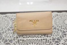 a95cdbb044f820 Authentic Prada Key Case Saffiano Leather 342823 #fashion #clothing #shoes  #accessories #