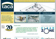 Diseño de la página web corporativa de Taca Systems.#Idenet #diseño_web_zaragoza #marketing_online http://www.idenet.net/portfolio-item/taca-systems?utm_campaign=portfolio&utm_medio=social&utm_source=pinterest
