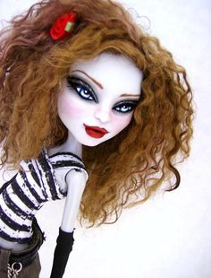Sammy Custom OOAK Dressed Monster High Cam Werewolf Repaint Mohair by Alison | eBay