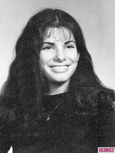 "Sandra Bullock -- Not as big a nose as in the other ""before"" shot"