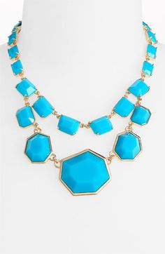 Kate Spade turquoise beauty