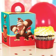 The Wrap - Donkey Kong Cupcake Boxes