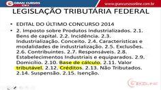 Projeto Receita Federal - Legislação Tributária - Prof. Vilson Cortez