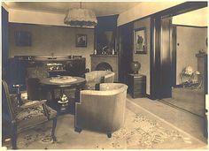 ca 1935, interieur Philips woning Woensel West