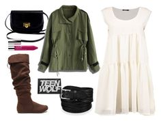 Allison Argent 3x14 by dalmafarkas on Polyvore featuring polyvore, fashion, style, Chicwish, Clinique, clothing, TeenWolf, Allison, Argent and 3x14