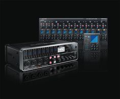 STUDIO-CAPTURE: USB 2.0 Audio Interface. Flagship 16x10 Interface with 12 Premium Mic Preamps.