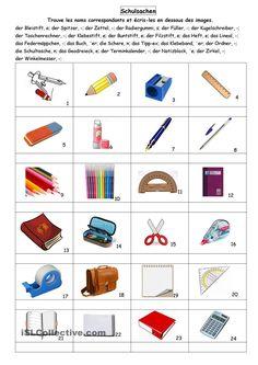 Schulsachen