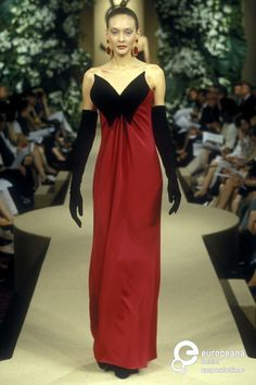 Yves Saint Laurent, Autumn-Winter 1997, Couture